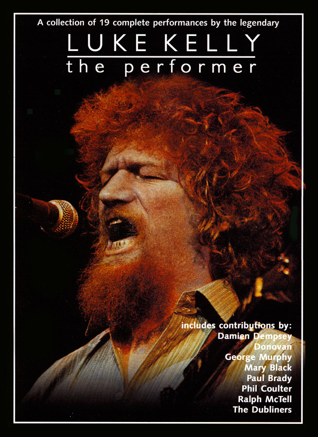 Luke Kelly (from The Dubliners) - The Performer DVD